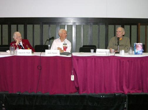 First Fandom panel: David A. Kyle, Jack Speer, Frederik Pohl